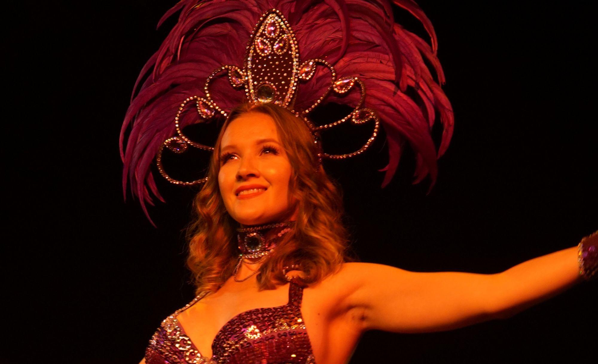 Exotické tance - taneční vystoupení samba - Rio karneval - Rinas Company