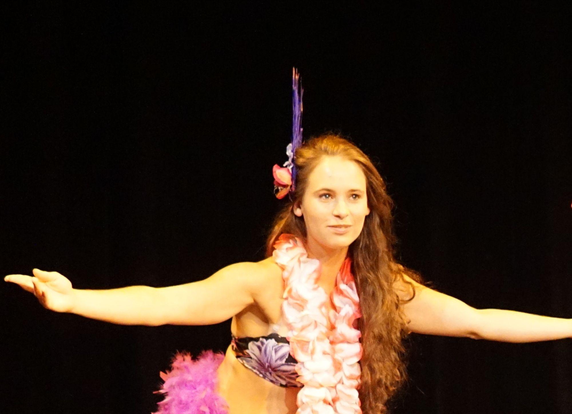 Havaj - taneční vystoupení - Rinas Company