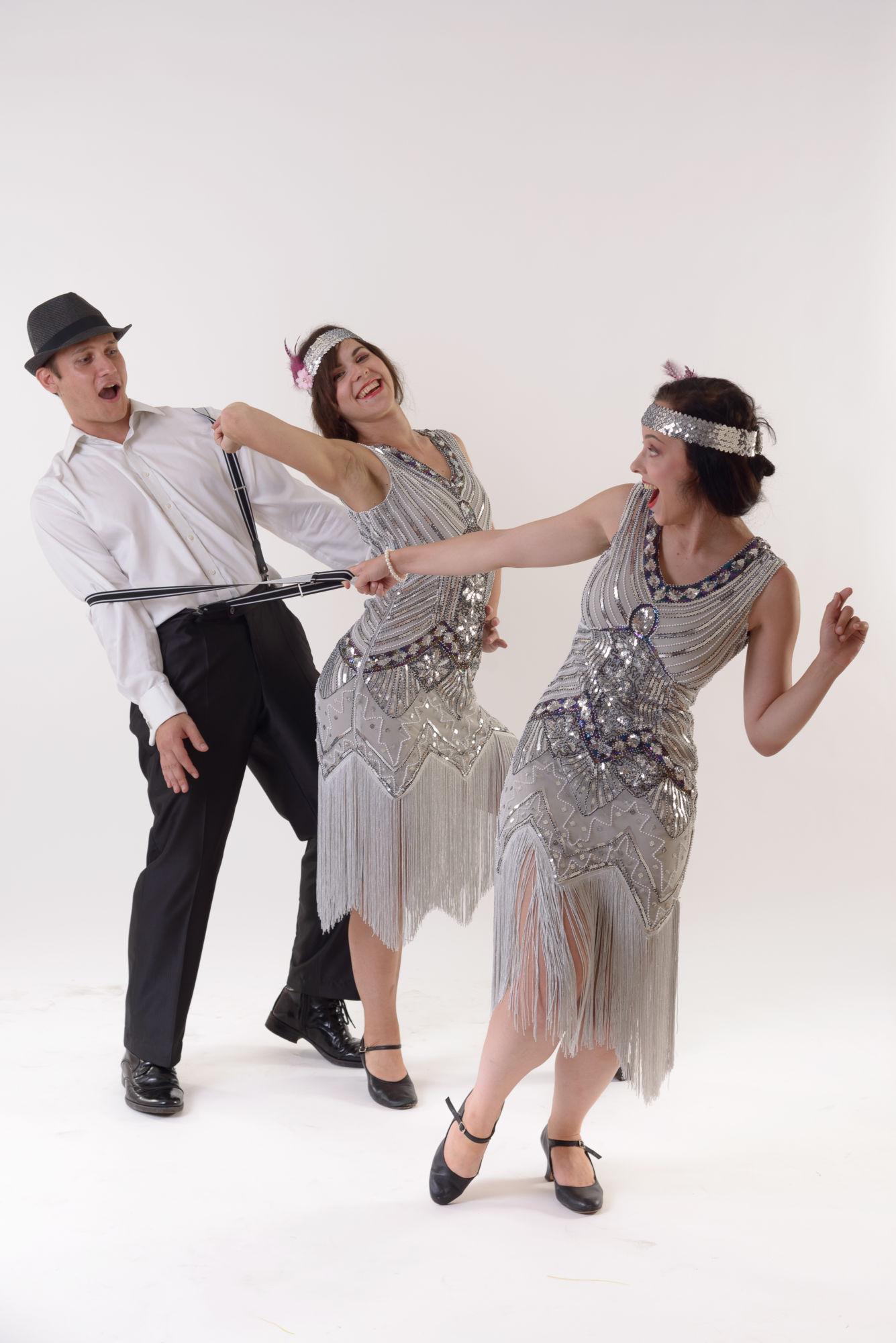 Charleston - taneční vystoupení - RInas Company