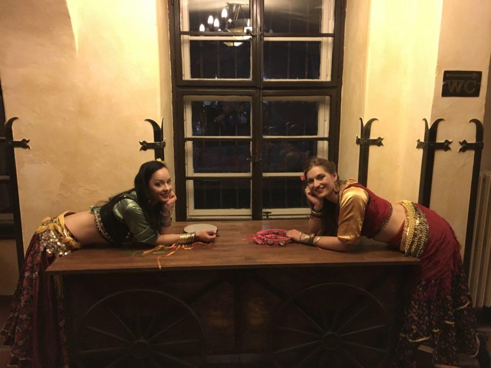 Cikánské tance - taneční vystoupení - Rinas Company